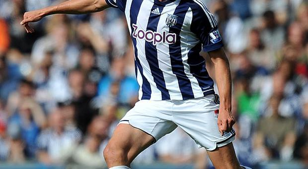 Jonas Olsson has been a rock at the back for West Brom this season
