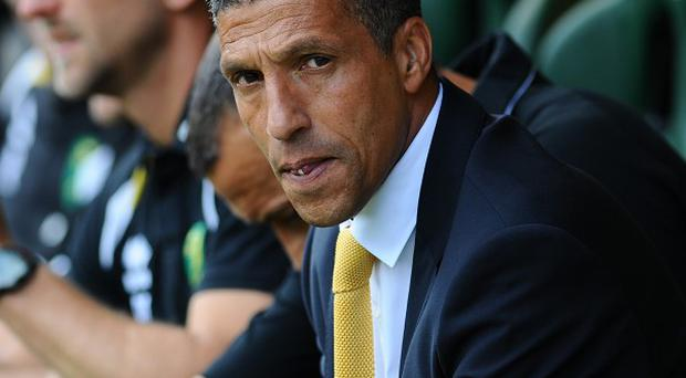 Chris Hughton wants a response from his Norwich players