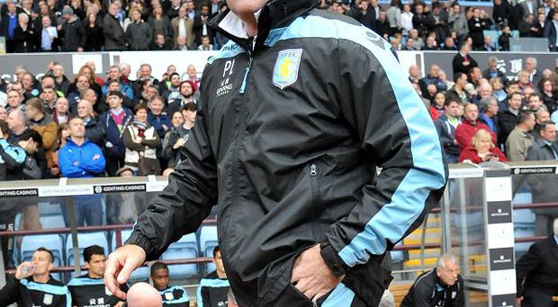 Aston Villa manager Paul Lambert is unhappy with comments made about him