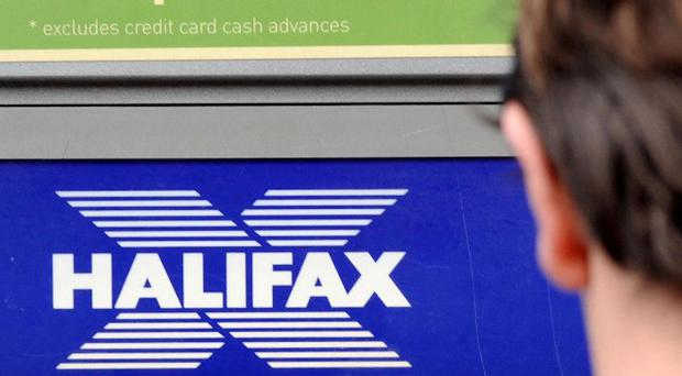 Halifax and Lloyds TSB customers have had trouble withdrawing cash