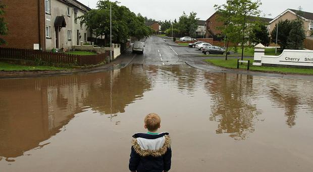 Weather forecasters are warning of potential flooding through the weekend