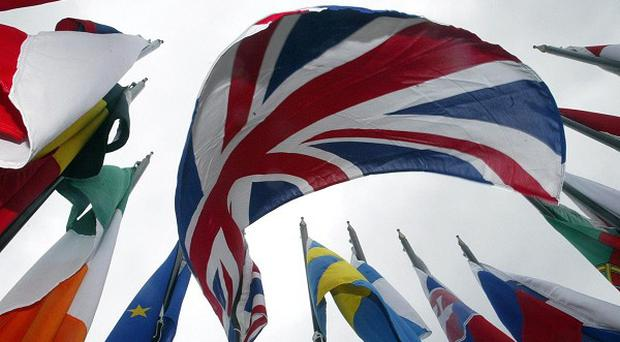 Foreign Secretary William Hague said the British people should have a say on any 'fresh settlement' in the EU