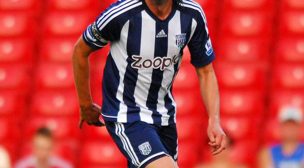 Jonas Olsson, pictured, says Steve Clarke was a major factor in him signing a new deal