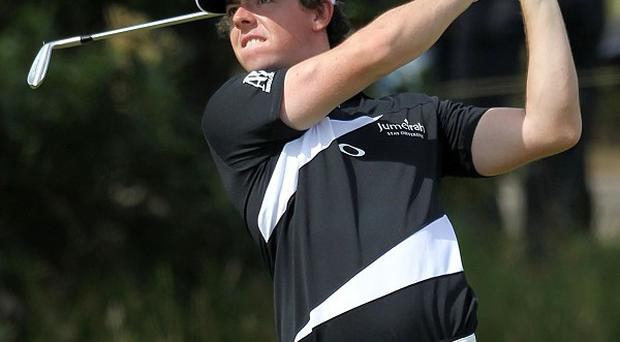 Rory McIlroy was rushed to the Medinah golf course by a state trooper