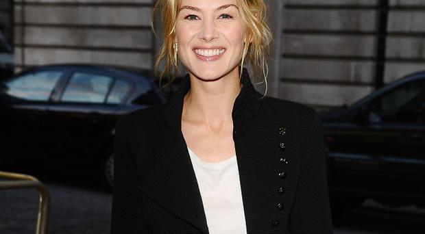 Rosamund Pike said Tom Cruise was very supportive