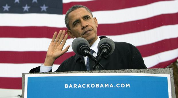 President Barack Obama's campaign have released details of his latest fundraising total (AP)