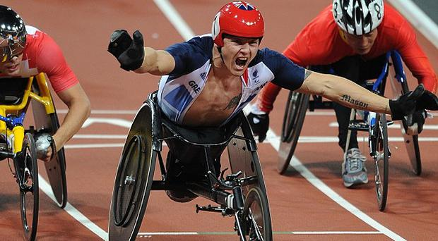 Tens of thousands of pounds of extra cash was donated to some disability charities during the Paralympics, figures show