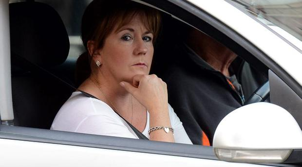 Frustrated driver caught up in Belfast traffic
