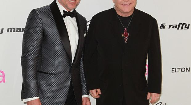 David Furnish and Sir Elton John are parents to 20-month-old son Zachary