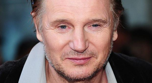 Liam Neeson's movie is number one across the pond