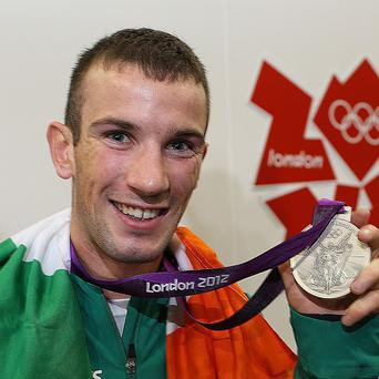 John Joe Nevin won a silver medal at the London 2012 Olympic Games