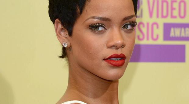 Rihanna has topped the UK singles chart with Diamonds