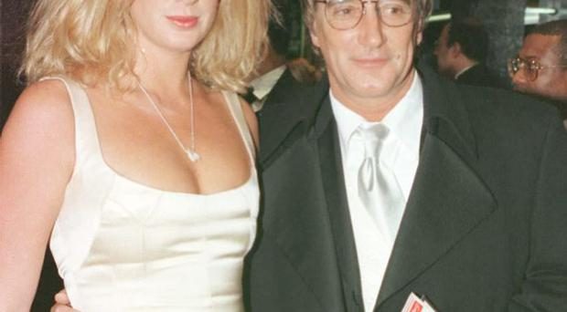 Happier times: Rod and Rachel during their marriage