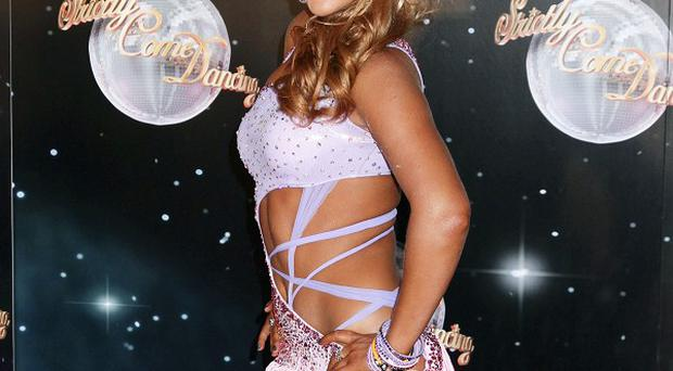 Aliona Vilani missed the first Strictly live show