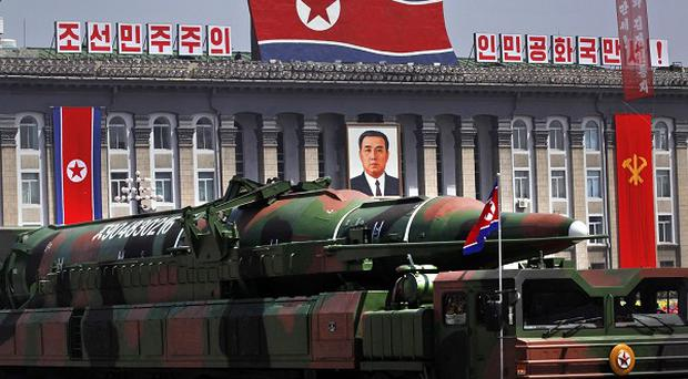 North Korean long-range rockets are believed to have a range of up to about 4,160 miles, putting parts of Alaska within reach (AP)