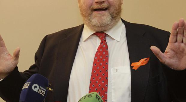 The Taoiseach says Dr James Reilly will not have the final say on where to site the new national children's hospital
