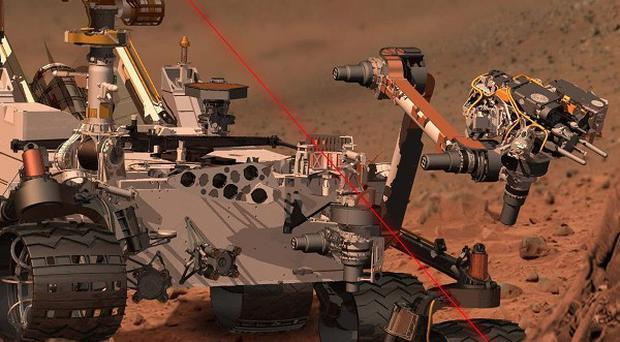 A bright object detected by Mars rover Curiosity is 'benign', Nasa said