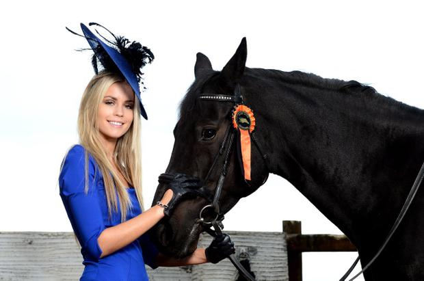 Equestrian beauty Jayne Higgins is aiming for Best Dressed prize at next month's Down Royal Festival