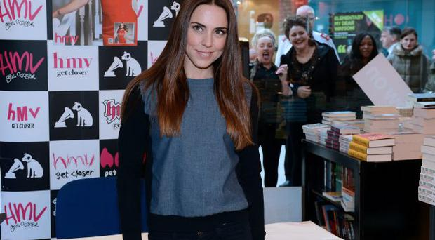 Ex Spice Girl Mel C pictured at the HMV store in Castle place in Belfast at the signing of her new album