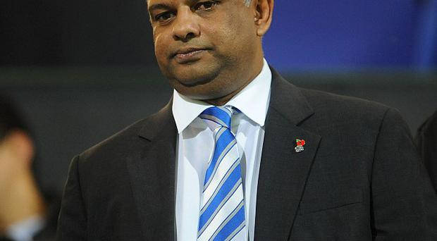 Tony Fernandes, pictured, believes Mark Hughes just needs time to turn QPR's fortunes around