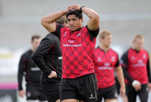 Ulster's Nick Williams is battling to be fit for Friday's big Heineken Cup opener
