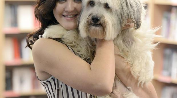 Britain's Got Talent winning dog Pudsey launches his 'Autobidography'
