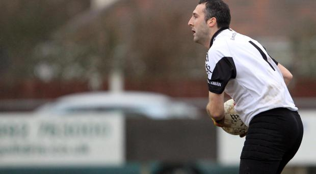 Crossmaglen Rangers goalkeeper Paul Hearty epitomises the ongoing hunger for success that consumes the team