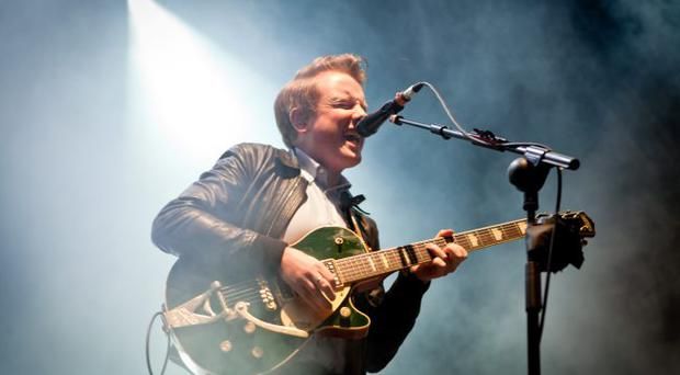 Frontman: Alex Trimble |said nothing was off limits for the documentary