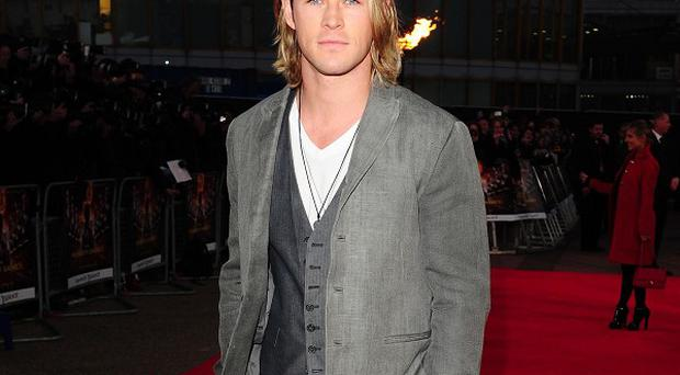 Chris Hemsworth starred in Snow White And The Huntsman