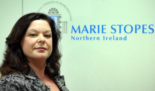 Dawn Purvis, programme director with Marie Stopes Northern Ireland, in her new Belfast office in the city centre