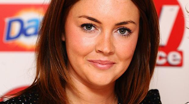 Lacey Turner said she gets on well with her Switch co-stars