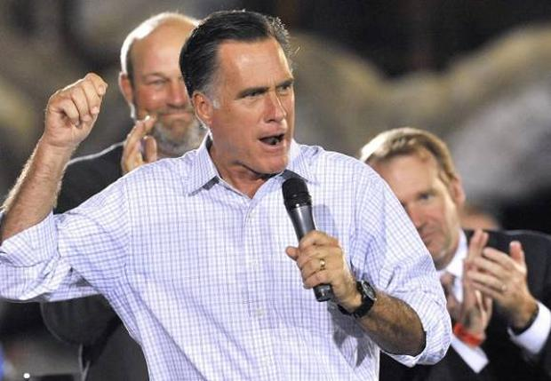 Mitt Romney on the offensive as battle for the White House heats up
