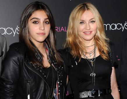 Teen trouble: Madonna didn't set such great example to her daughter Lourdes