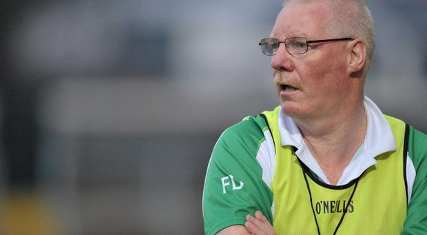 Frank Dawson hopes to give Antrim plenty to shout about