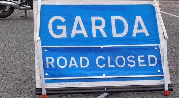 A suspect device ignited outside a house in Tallacht