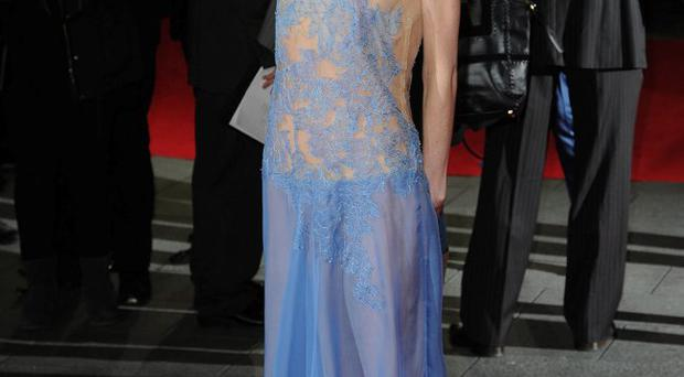 Antonia Campbell-Hughes attends the Premiere of
