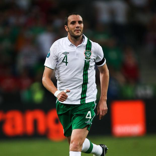 John O'Shea will captain Ireland against Germany