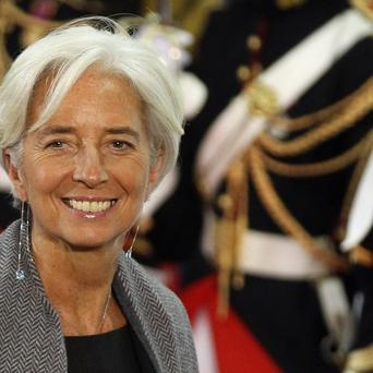 IMF chief Christine Lagarde says it is vital to restore economic growth