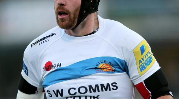Richard Baxter is relishing playing in the Heineken Cup