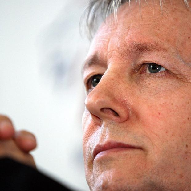Northern Ireland First Minister Peter Robinson said he wanted to move to a weighted majority voting system