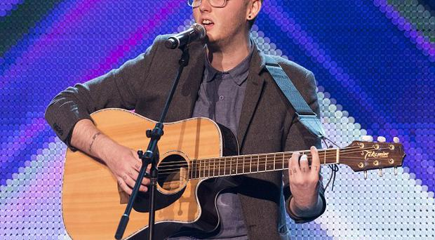 James Arthur suffered a panic attack