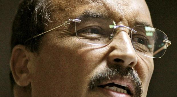 Mauritania's President Mohamed Ould Abdel Aziz was wounded when the military fired on his vehicle (AP)