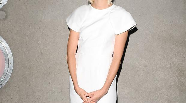 Agyness Deyn said stripping off for her new film was liberating
