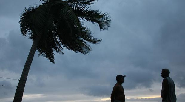 Tropical Storm Rafael could strengthen into a hurricane as it spins over the Atlantic