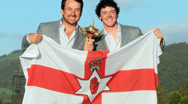 Question of identity: Rory McIlroy and Graeme McDowell should be admired — whatever their allegiance