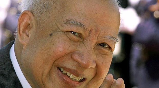 Cambodia's former king Norodom Sihanouk has died at the age of 89 (AP/Andy Eames)