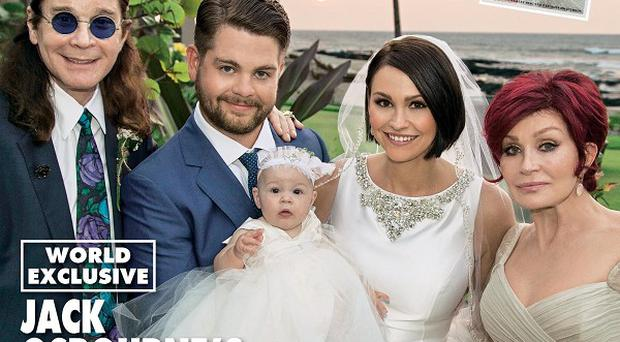 Jack Osbourne tied the knot with Lisa Stelly in Hawaii
