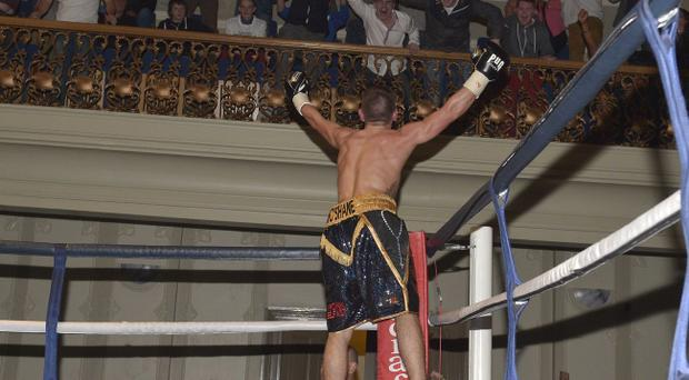Crumlin's Daniel McShane got off to a winning start on his pro debut