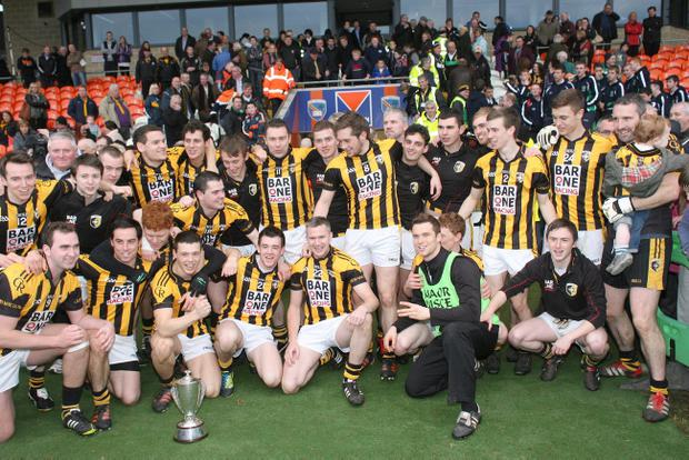 Crossmaglen celebrate one of many successes