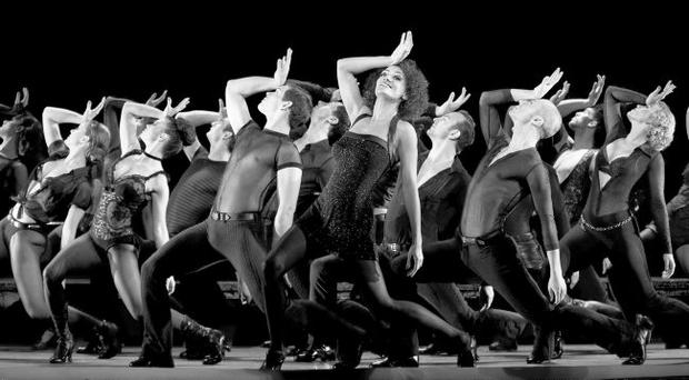 The cast of Chicago: The Musical strut their stuff